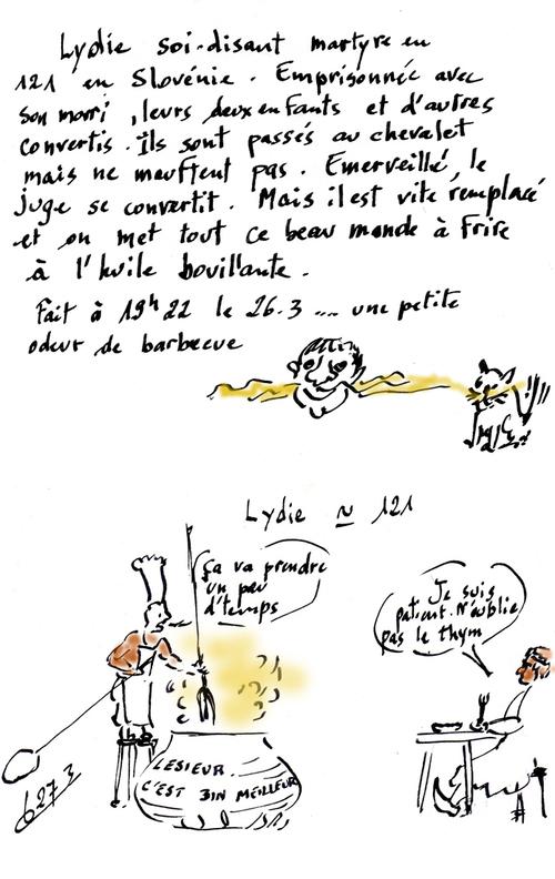 Saintes/tortures