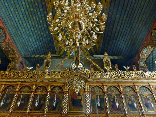 Jour 3 - Bansko l'église - l'iconostase