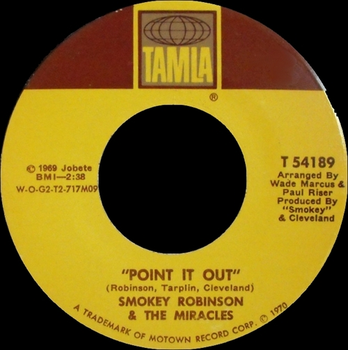 """Smokey Robinson & The Miracles : Album """" Four In Blue """" Tamla Records TS 297 [ US ]"""
