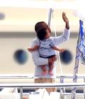 Beyonce, Jay Z dans un Yatch en France avec Blue Ivy