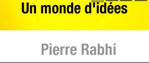 Pierre Rabhi sur France info lundi 14 octobre