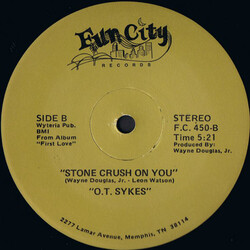 O.T. Sykes - Stone Crush On You