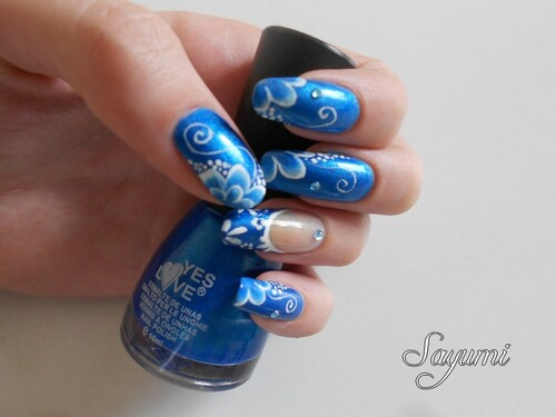 Nail Art Aquatique