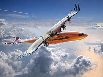 L'avion de demain, imaginé par Airbus ...