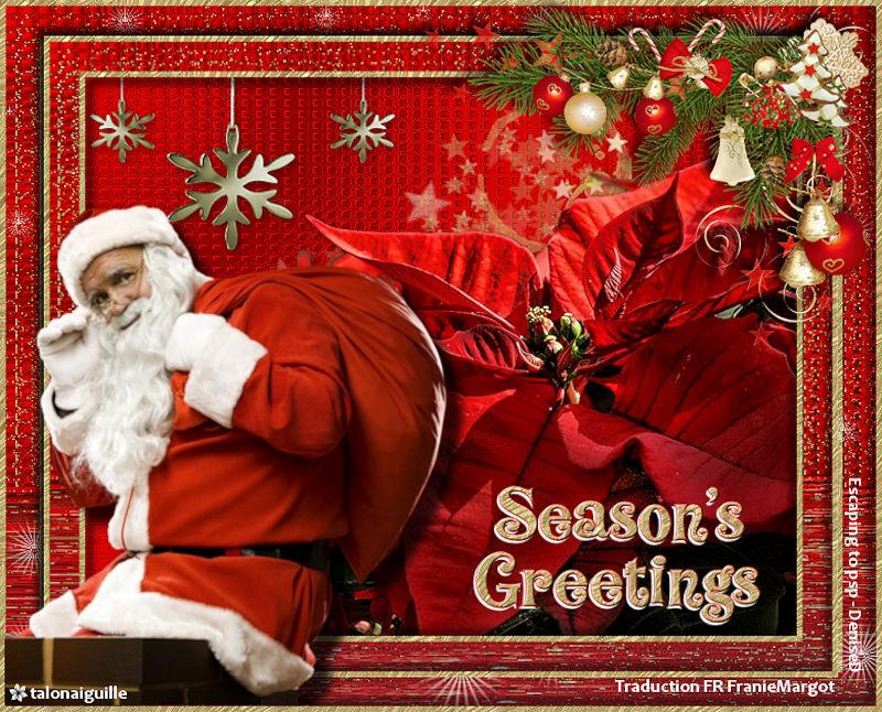*** Seasons greetings ***