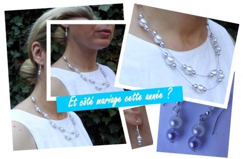 Quelques bijoux de mariées - Eté 2012