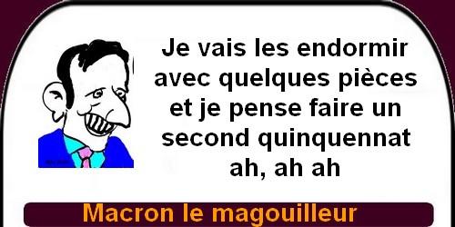 Comment Macron continue à enfumer les français ?