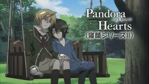 Pandora Hearts vous dit... Oyasumi!!