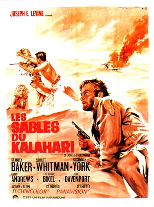 LES SABLES DU KALAHARI BOX OFFICE 1966