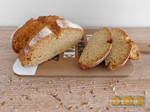 Irish soda bread (pain irlandais express)