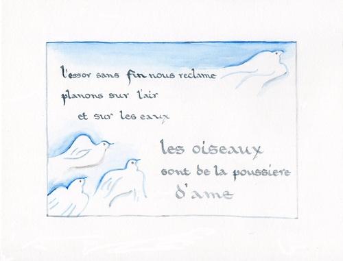 Les oiseaux - Victor Hugo
