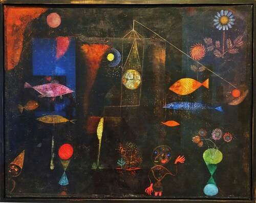 Poissons à la Paul KLEE