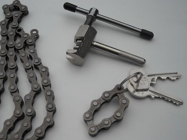 La chaîne au bout des clés !
