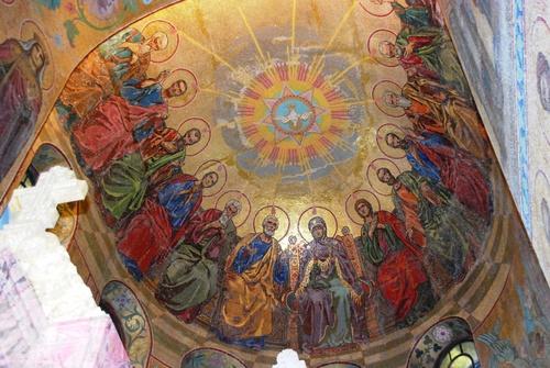 Eglise Saint Sauveur sur le Sang à Saint Petersbourg (photos)