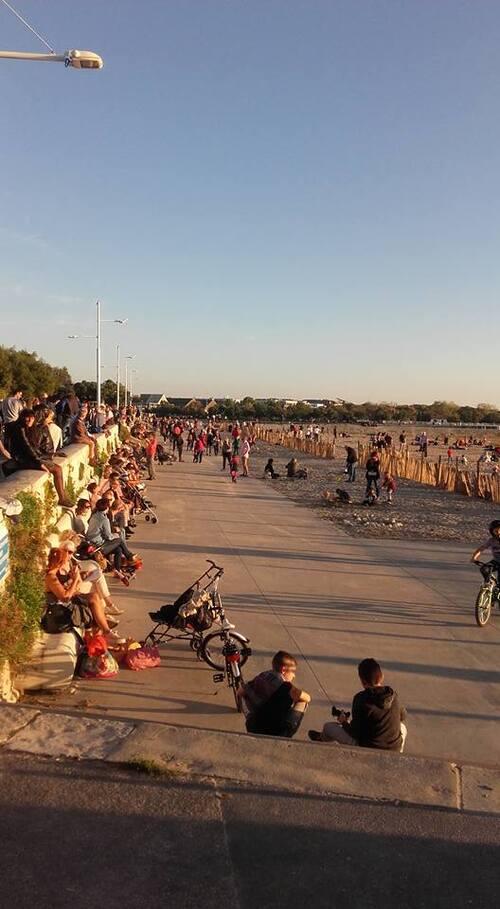 2016 : Sur la plage au dernier jour d'Octobre