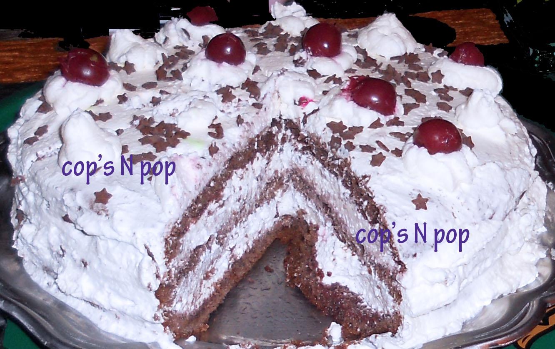 Recette gateau foret noire sans alcool home baking for you blog photo - Recette gateau foret noire ...