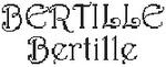 Dictons de la Ste Bertille + grille prénom !