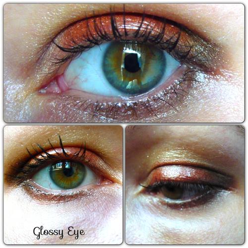 Mon premier glossy eye...