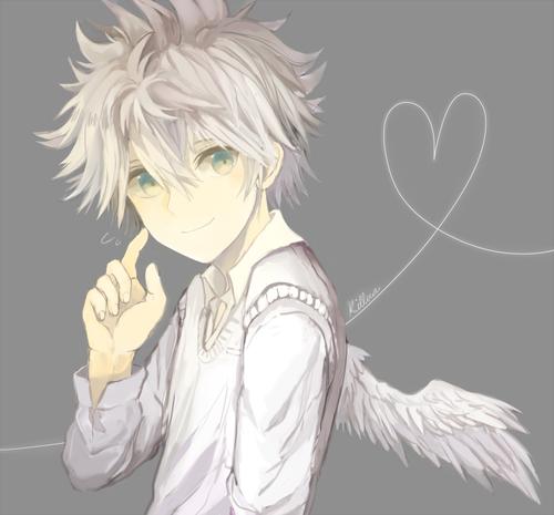 Image de angel, anime, and draw