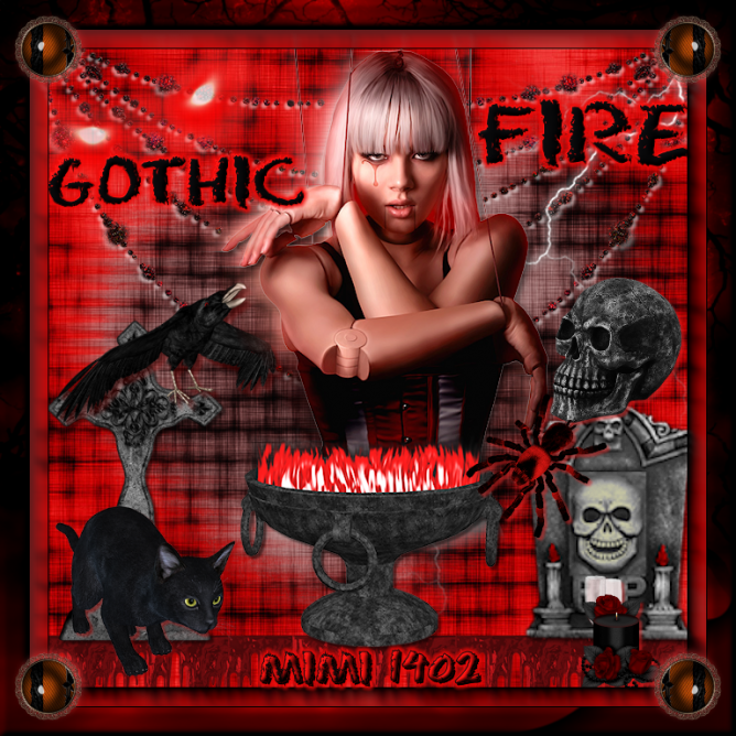 GOTHIC FIRE