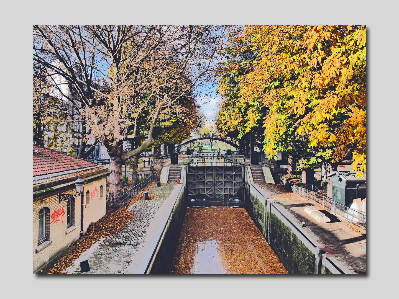 impressionisme au canal Saint Martin