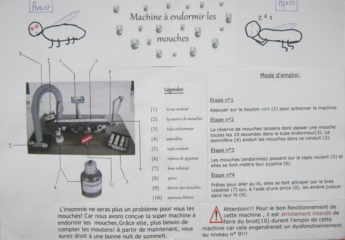 Machine à ... les mouches