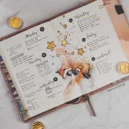 42 Best Bullet Journal Weekly Spread Ideas