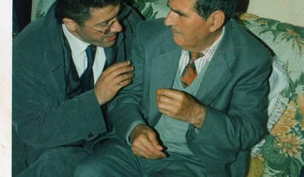 Matoub Lounès avec Bessaoud Mohand Arab.