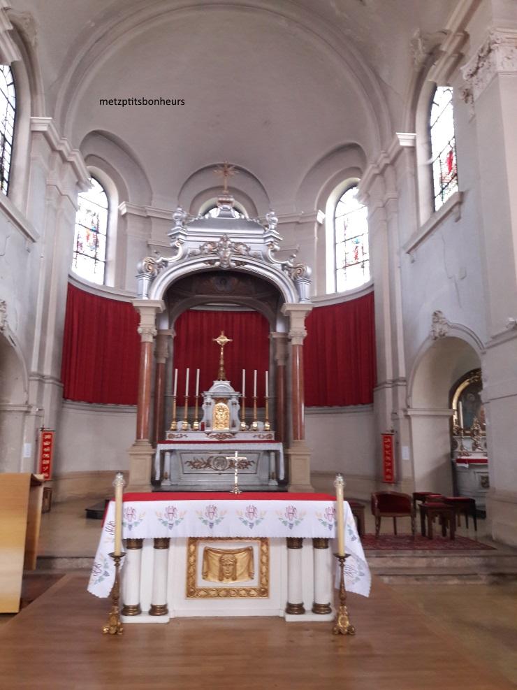 Le grand séminaire de Metz.