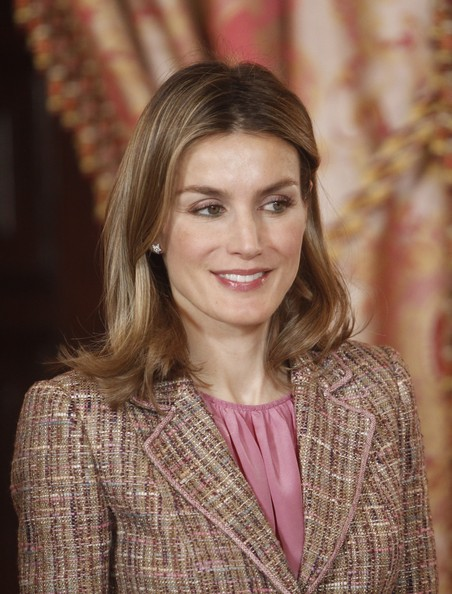 Letizia à la réception royale