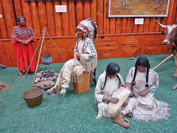 Jour 16 Banff musée Luxton reconstitution