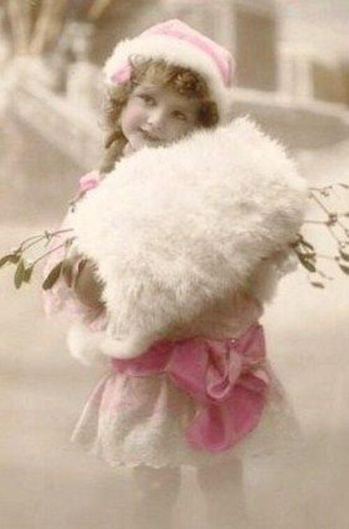 enfants vintage