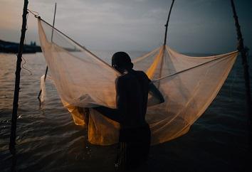 Les enfants du lac Volta ...
