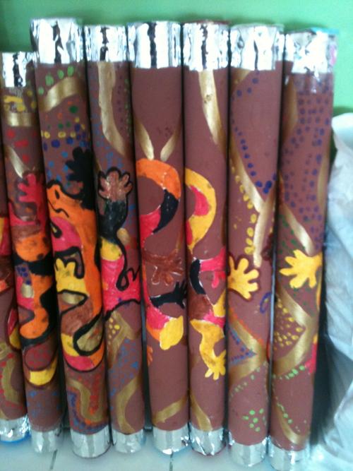 les bâtons de pluies aborigènes