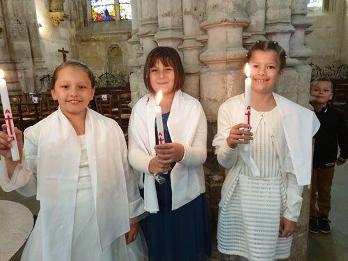 Célébration de baptême