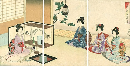 L'art du thé au Japon, par Marëva Lebon