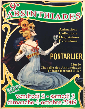 Absinthiades 2009:l'affiche