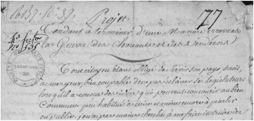 Encore un plan contre la Vendée, par le citoyen Bouillard....