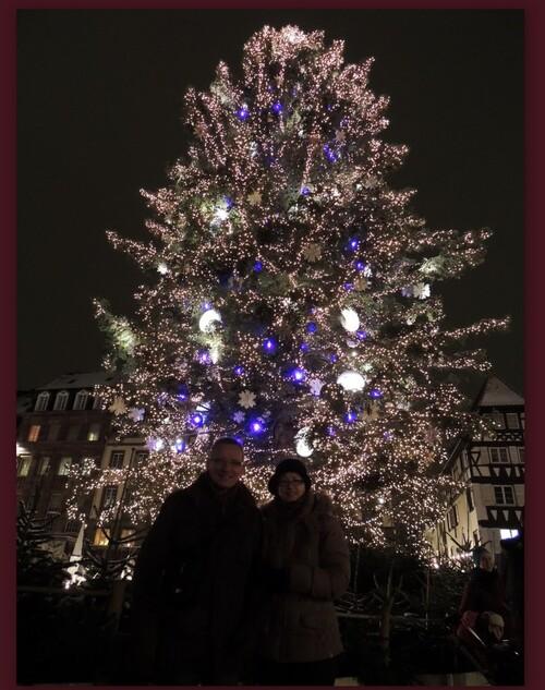 la sapin de NOËL de Strasbourg