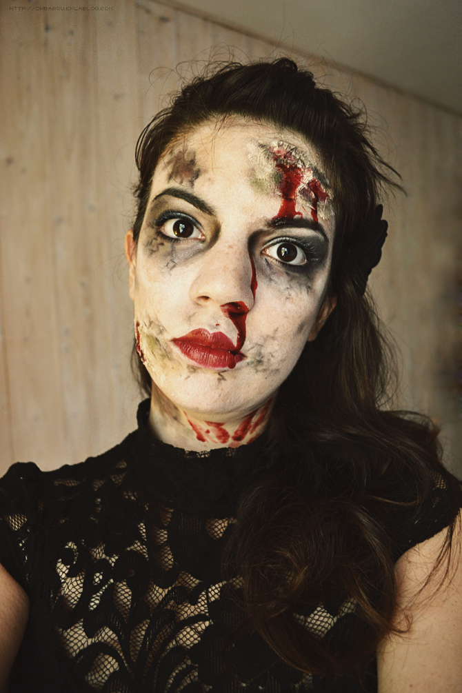 Wouldn't you like to see something strange ? - Make up Halloween