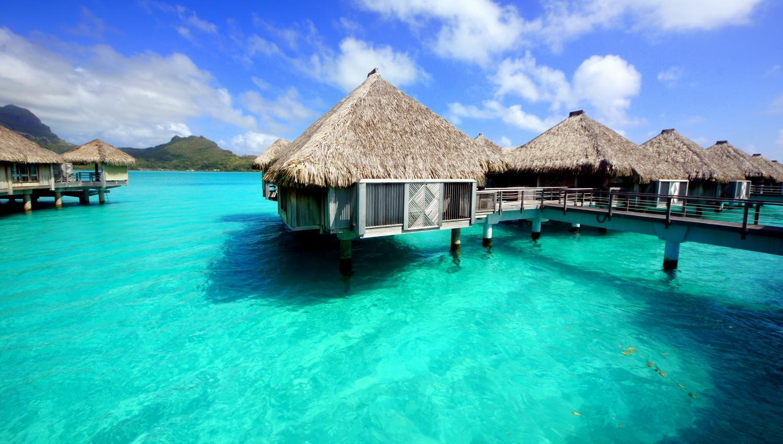 bora bora saint r gis overwater villa partir au bout du monde oc anie malaisie asie. Black Bedroom Furniture Sets. Home Design Ideas