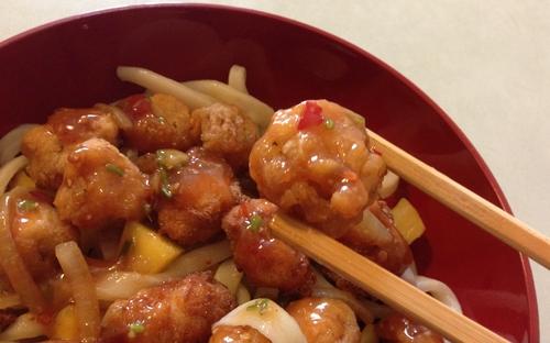 POPCORN CHICKEN en sauce aigre-douce du McDo !