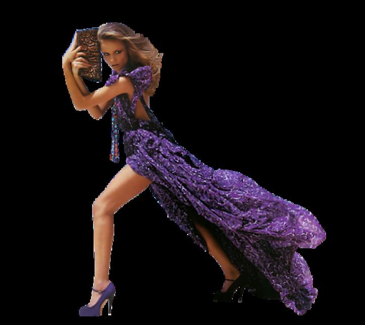 Femmes en Violet