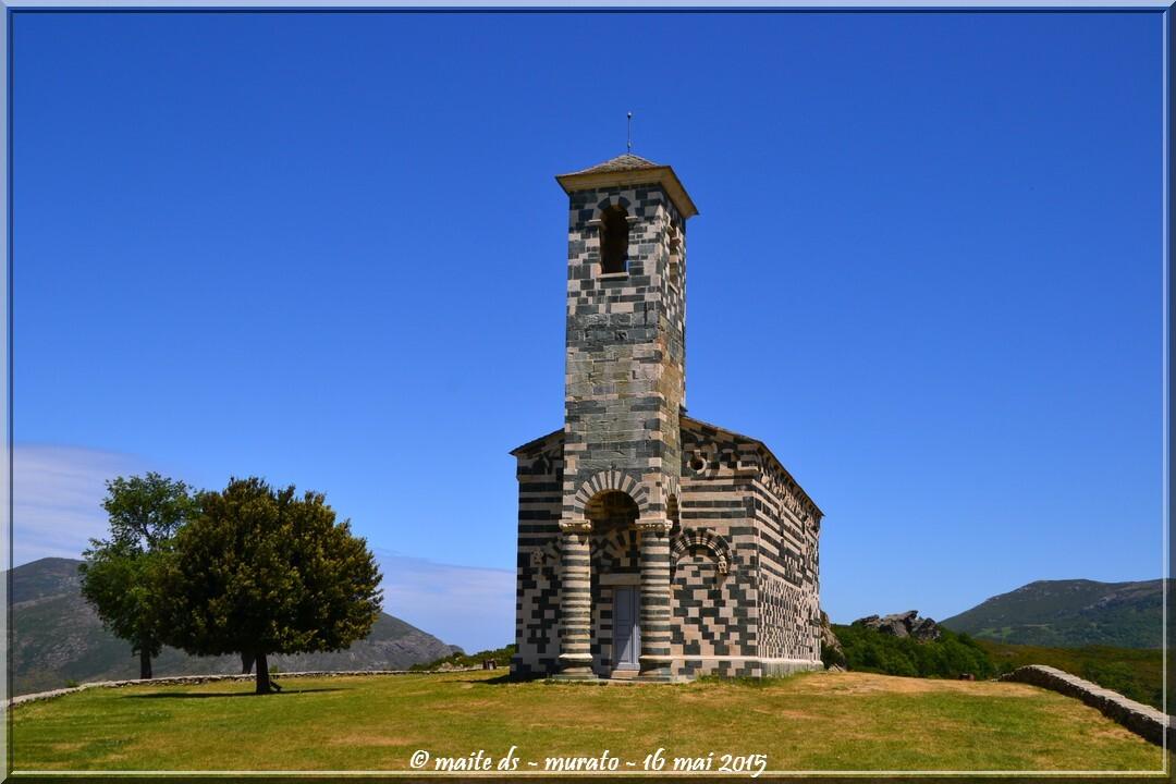 Eglise San Michele de Murato - Corse (1)