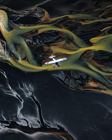 L'Islande, vue du ciel ...