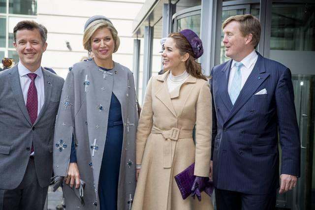 Willem Alexander et Maxima aux Pays Bas