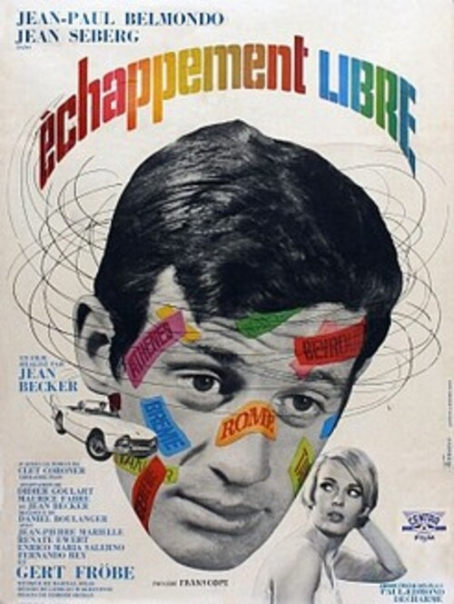 ECHAPPEMENT LIBRE - JEAN PAUL BELMONDO BOX OFFICE 1964