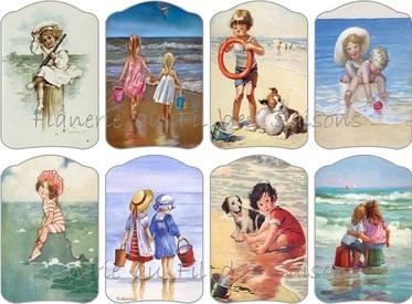 Cartonnettes Vacances Mer !