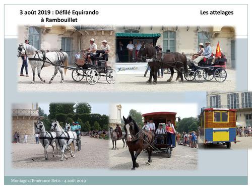 Défilé d'Equirando à Rambouillet