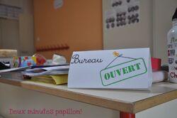 bureau ouvert